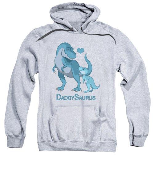 Daddy Tyrannosaurus Rex Baby Boy Sweatshirt