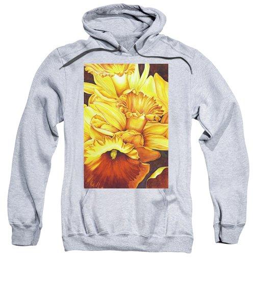 Daffodil Drama Sweatshirt