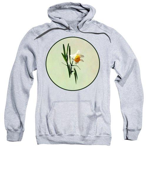 Daffodil Taking A Bow Sweatshirt