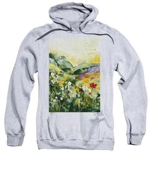 Daisies And Poppies Sweatshirt