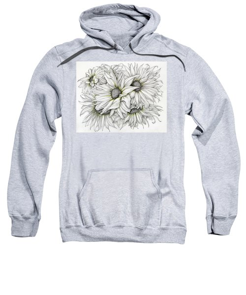 Sunflowers Pencil Sweatshirt
