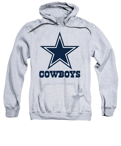 Dallas Cowboys On An Abraded Steel Texture Sweatshirt