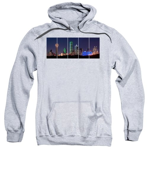 Dallas Png Transparency 031018 Sweatshirt