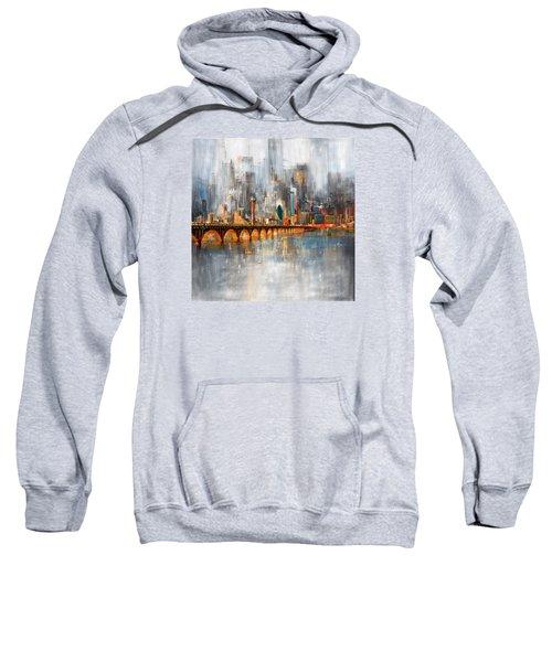 Dallas Skyline 217 1 Sweatshirt by Mawra Tahreem