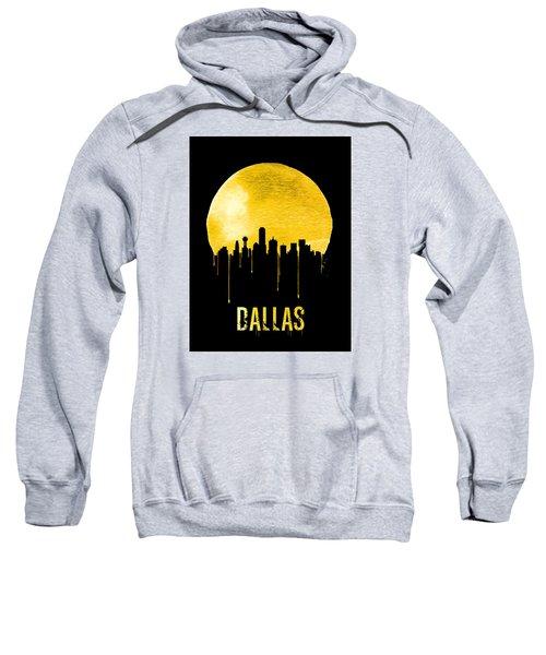 Dallas Skyline Yellow Sweatshirt by Naxart Studio