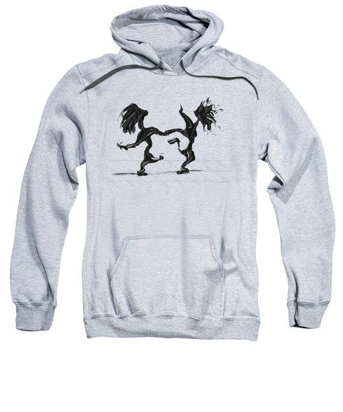 Dancing Couple 8 Sweatshirt