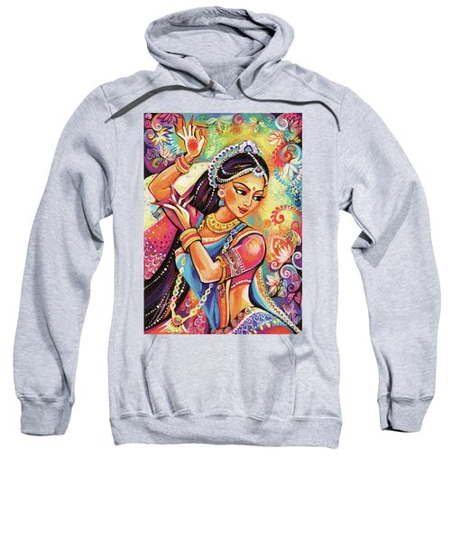 Sweatshirt featuring the painting Dancing Of The Phoenix by Eva Campbell