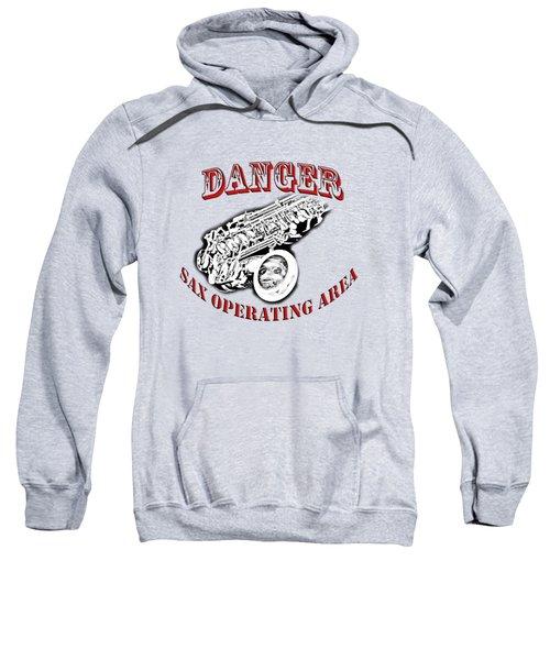 Danger Sax Operating Area Sweatshirt