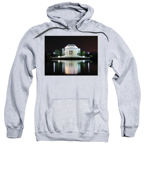 Darkness Over The Jefferson Memorial Sweatshirt