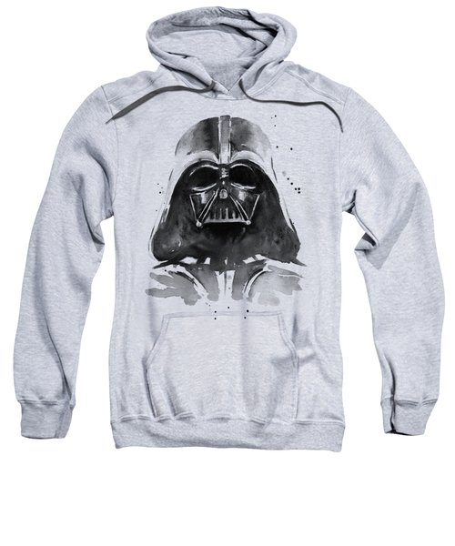 Darth Vader Watercolor Sweatshirt by Olga Shvartsur