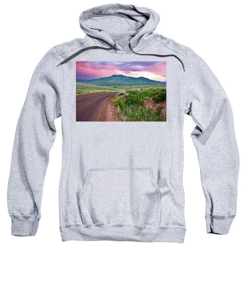 Dawn At Flattop Mountain Sweatshirt