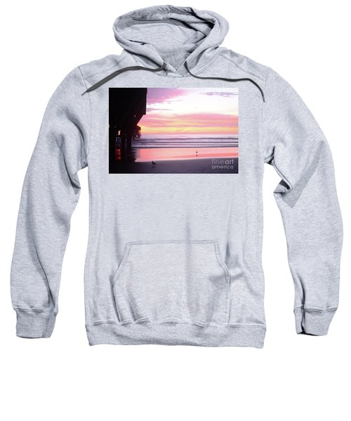 Dawn At The Beach 8-14-16 Sweatshirt
