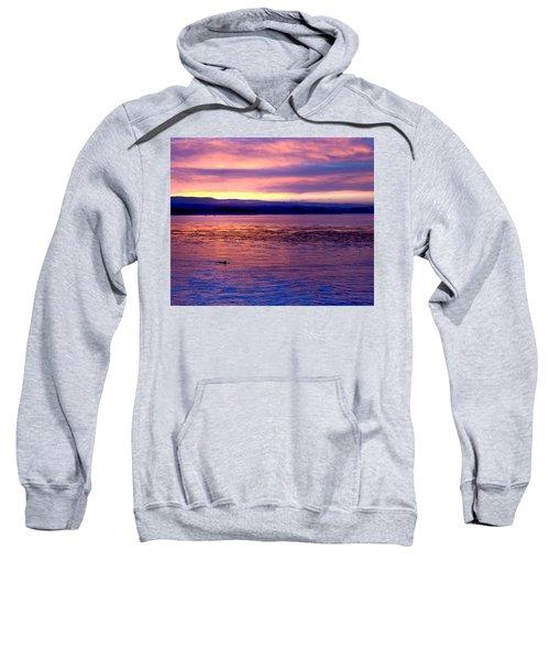 Dawn Patrol Sweatshirt by Lora Lee Chapman
