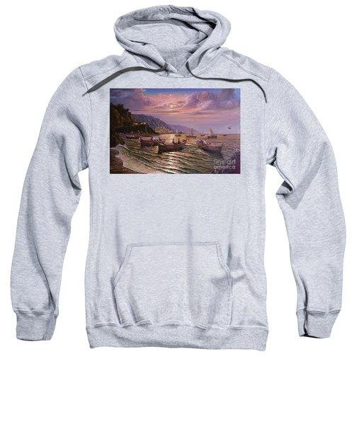 Day Ends On The Amalfi Coast Sweatshirt