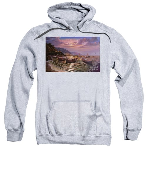 Day Ends On The Amalfi Coast Sweatshirt