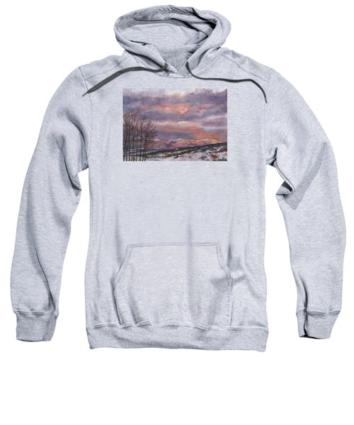 Daylight's Last Blush Sweatshirt
