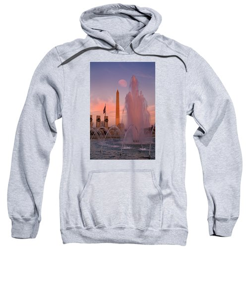 Dc Sunset Sweatshirt by Betsy Knapp