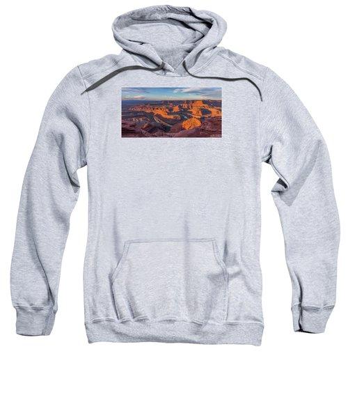 Dead Horse Point Sunrise Panorama Sweatshirt