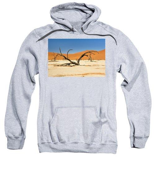 Deadvlei With Tree Sweatshirt