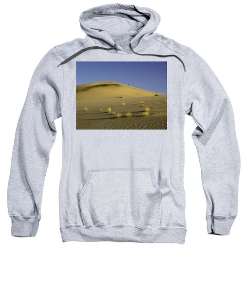 Death Valley Sand Dune At Sunset Sweatshirt