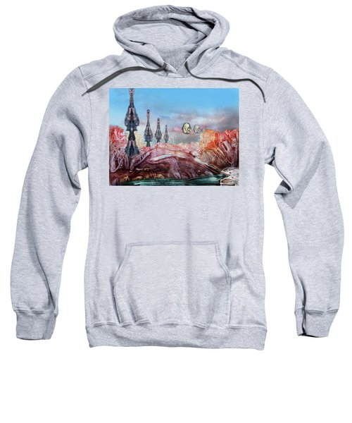 Decalcomaniac Transmission Towers Sweatshirt