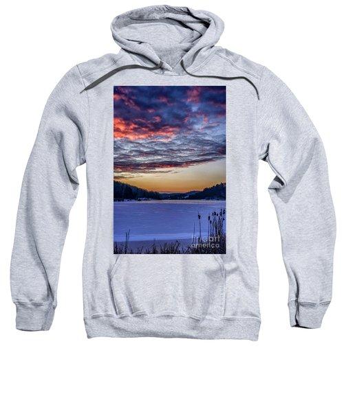 December Dawn On The Lake Sweatshirt