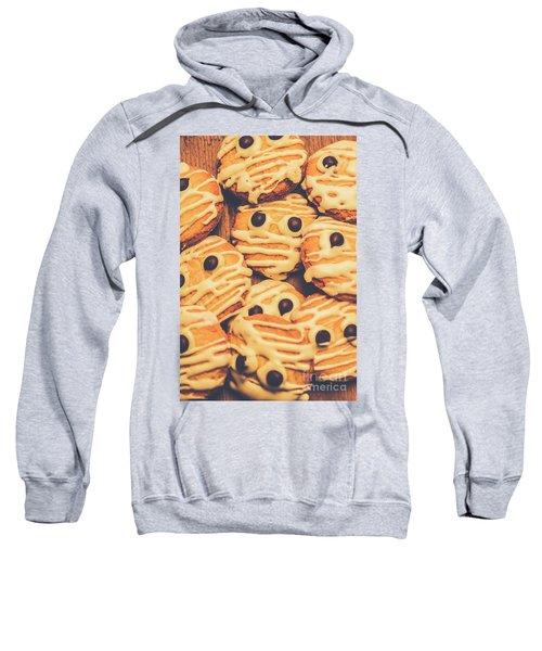 Decorated Shortbread Mummy Cookies Sweatshirt