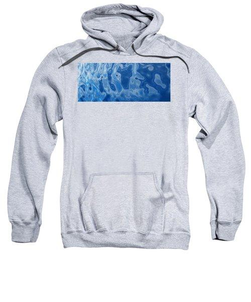 Deep Blue Tide Sweatshirt