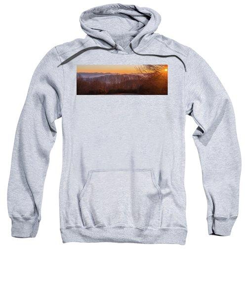 Deep Orange Sunrise Sweatshirt