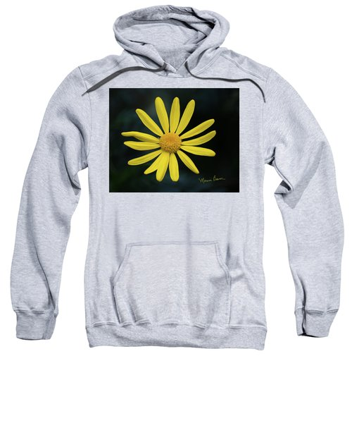 Deep Yellow Flower Sweatshirt