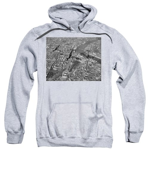 Sweatshirt featuring the photograph Defence Of The Realm by Gary Eason