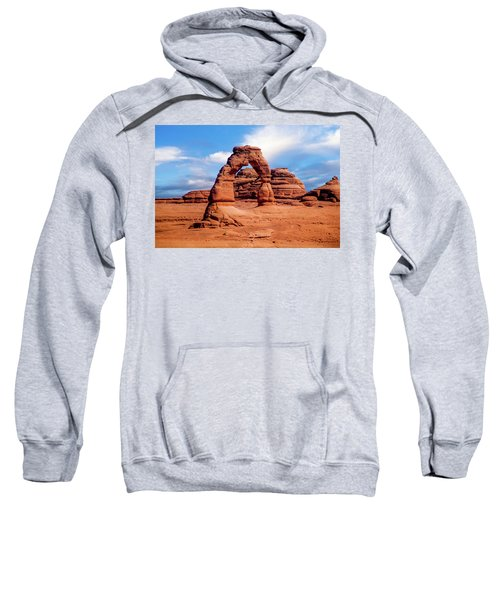 Delicate Arch From Lower Viewpoint Sweatshirt