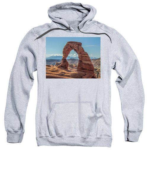 Delicate Arch In Early Morning Sweatshirt