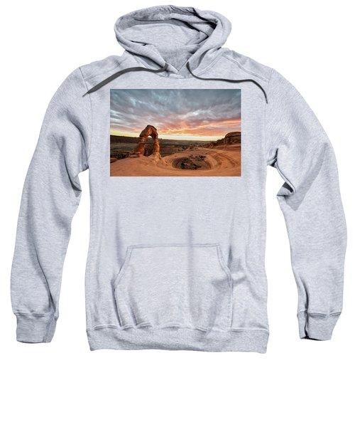 Delicate At Sunset Sweatshirt