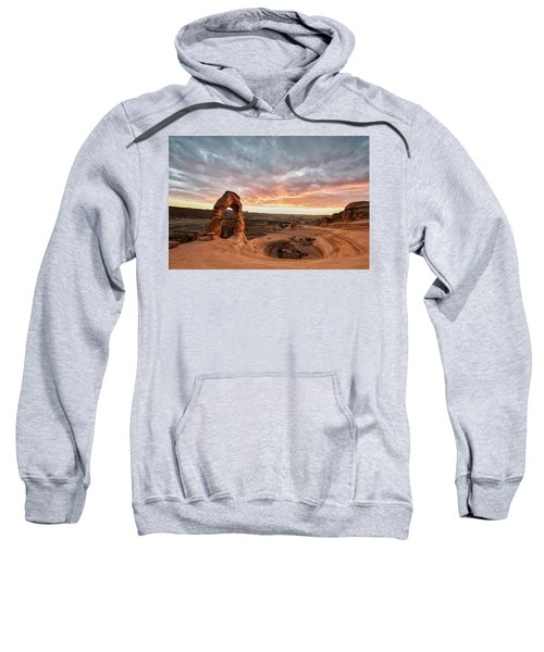 Delicate At Sunset Sweatshirt