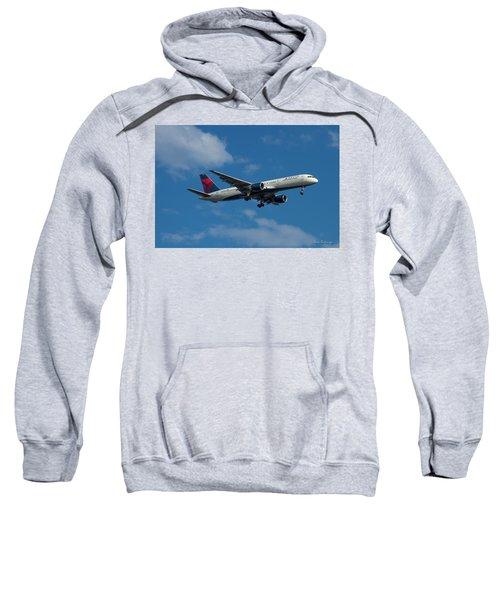 Delta Air Lines 757 Airplane N668dn Sweatshirt