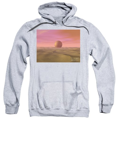 Desert Dream Of Geometric Proportions Sweatshirt