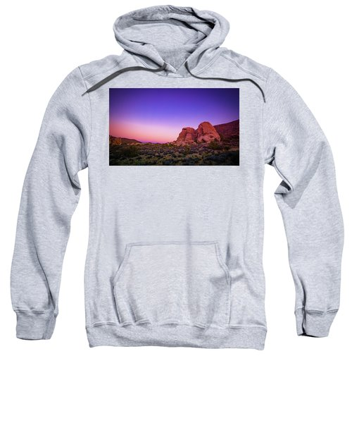 Desert Grape Rock Sweatshirt
