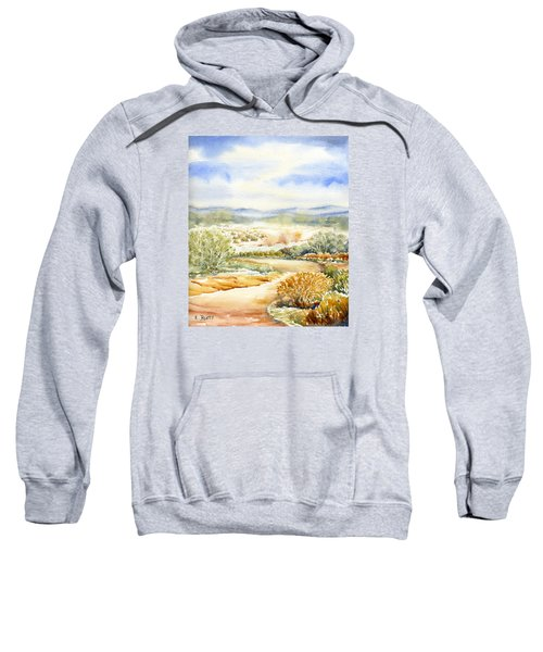 Desert Landscape Watercolor Sweatshirt