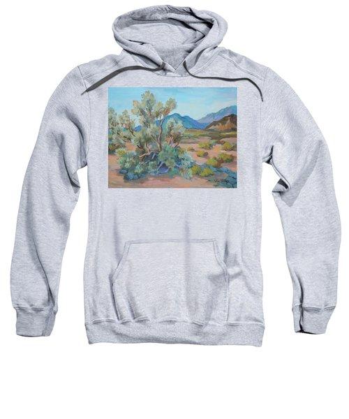 Desert Light Smoke Tree Sweatshirt