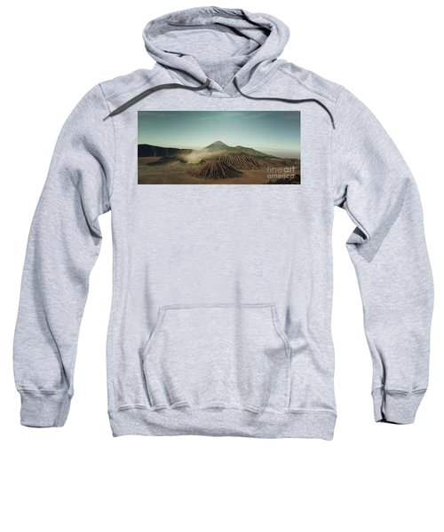Sweatshirt featuring the photograph Desert Mountain  by MGL Meiklejohn Graphics Licensing