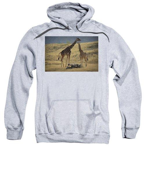 Desert Palm Giraffe Sweatshirt