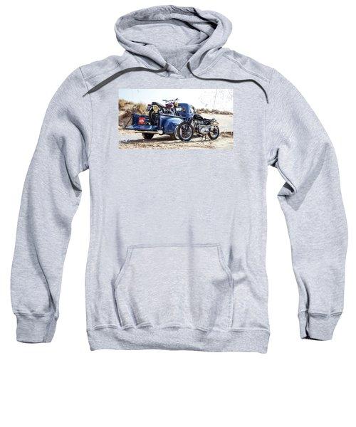 Desert Racing Sweatshirt by Mark Rogan
