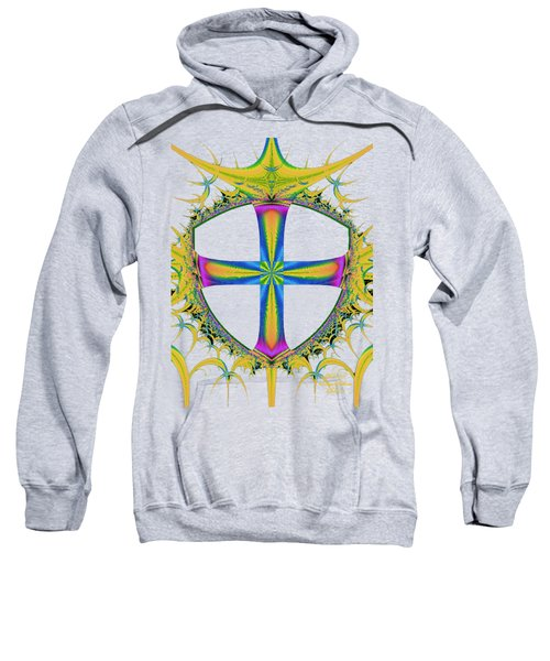 Design Cross Gold Sweatshirt