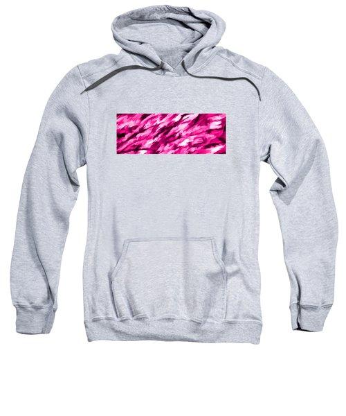 Designer Camo In Hot Pink Sweatshirt