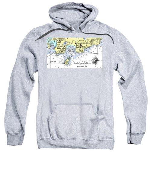 Detail Of Magnolia Harbor Sweatshirt