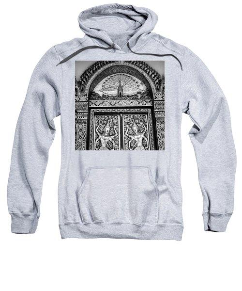 Detail On The Doors Sweatshirt