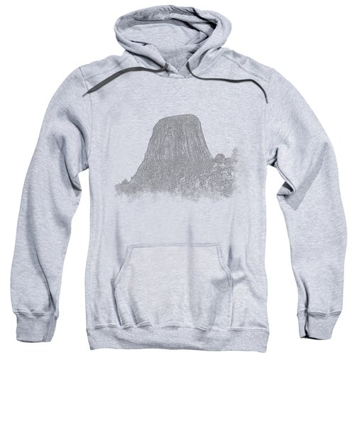Devils Tower Vignette Sweatshirt
