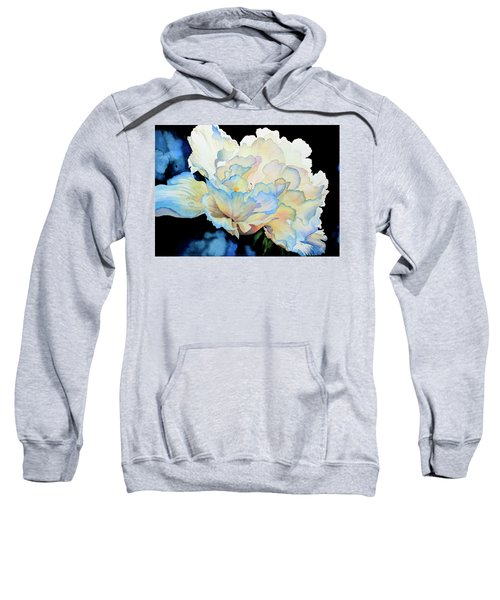Dew Drops On Peony Sweatshirt