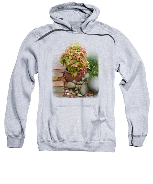 Dew On Leaves Sweatshirt